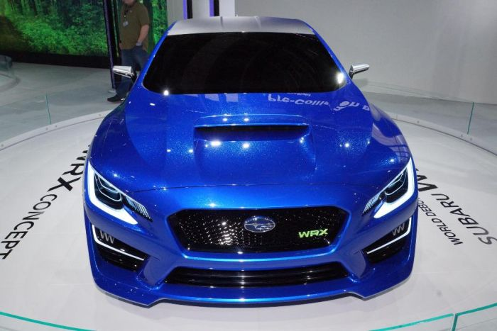Subaru WRX concept al debutto europeo