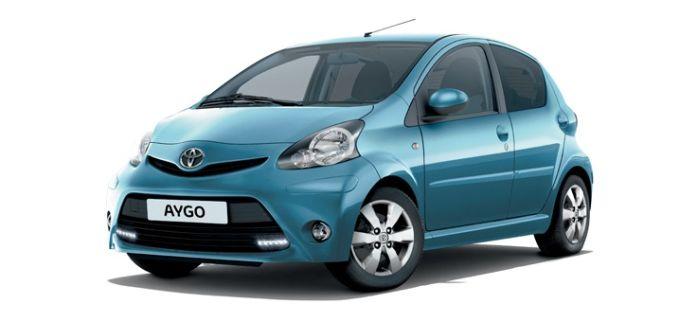 Toyota Aygo nuova versione Cool Soda