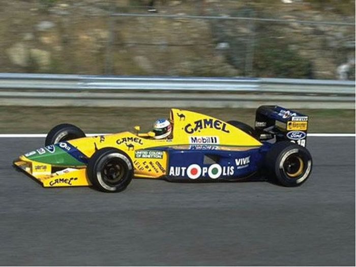 All'asta la Benetton B191-Ford Cosworth di Michael Schumacher