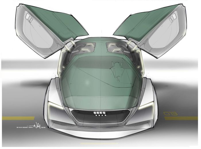 Audi Fleet Shuttle Quattro protagonista del film Ender's Game 04