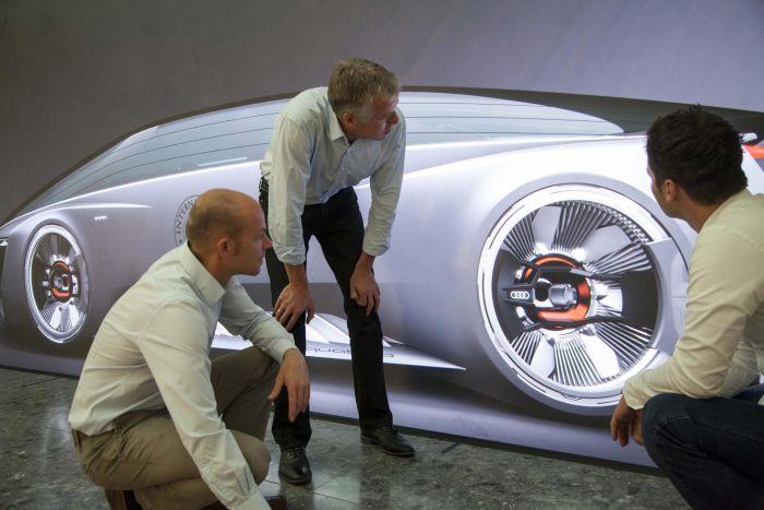 Audi Fleet Shuttle Quattro protagonista del film Ender's Game 06