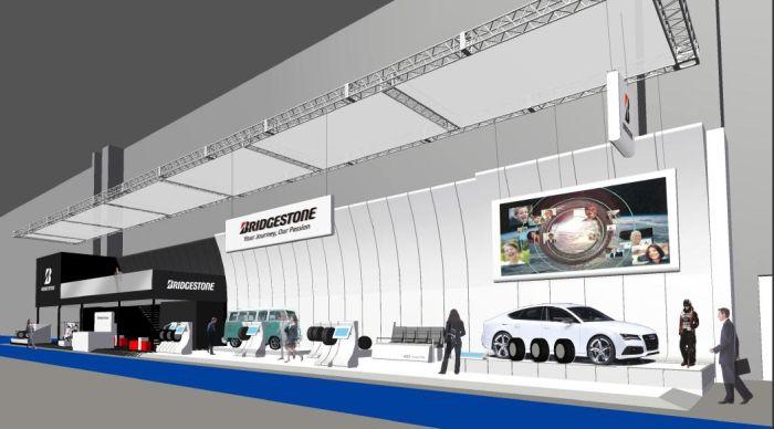 Bridgestone al Salone di Francoforte 2013