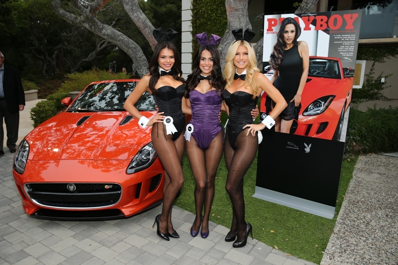 Jaguar e Playboy: da Pebble Beach le immagini del party più esclusivo del 2013