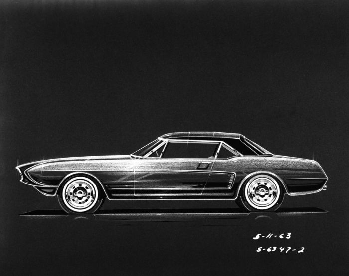 1963 Ford Mustang MK II Concept 01