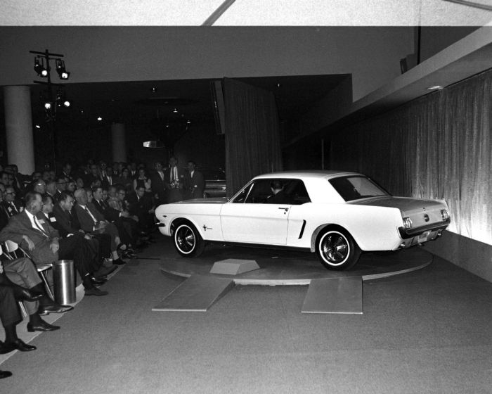 1964 World's Fair Mustang introduction