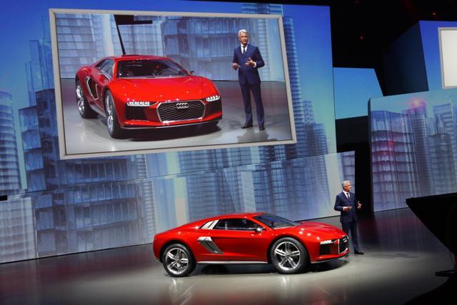 Audi nanuk quattro concept le immagini dal salone di Francoforte