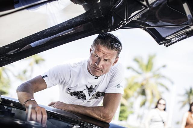 David Coulthard e l'Infiniti Red Bull Racing Team protagonisti a l'Havana, Cuba 1
