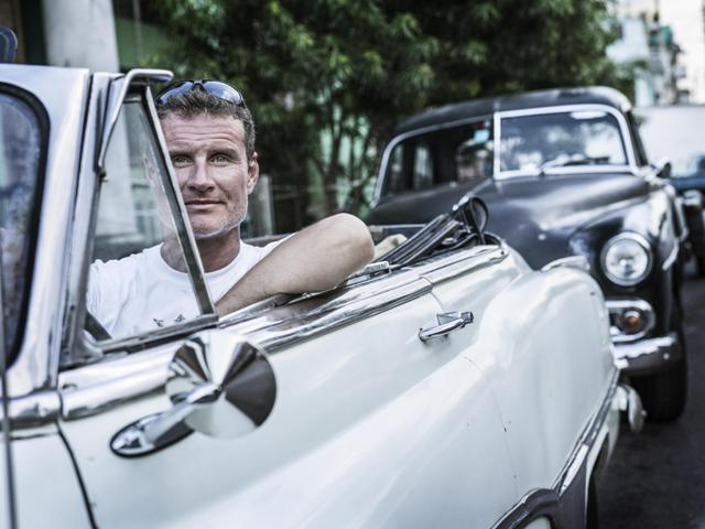 David Coulthard e l'Infiniti Red Bull Racing Team protagonisti a l'Havana, Cuba 3