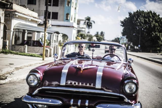 David Coulthard e l'Infiniti Red Bull Racing Team protagonisti a l'Havana, Cuba 9