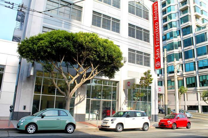 FIAT OF SAN FRANCISCO IS THE FIRST FIAT STUDIO TO OPEN IN THE CITY