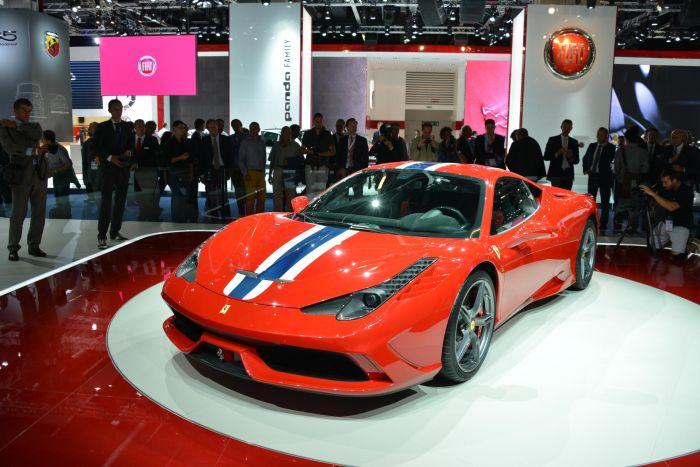 Ferrari 458 Speciale: caratteristiche tecniche e immagini live da Francoforte