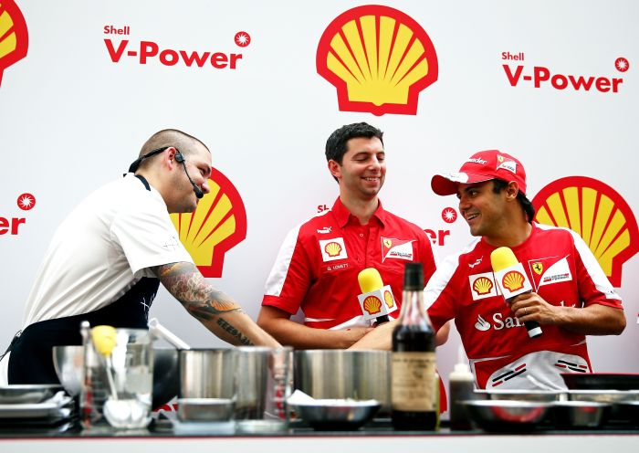 Shell at Singapore F1 Grand Prix