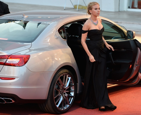 Festival di Venezia 2013 Blue Carpet Night firmata Maserati 02
