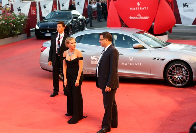Festival di Venezia 2013 Blue Carpet Night firmata Maserati 03