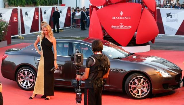 Festival di Venezia 2013 Blue Carpet Night firmata Maserati 07