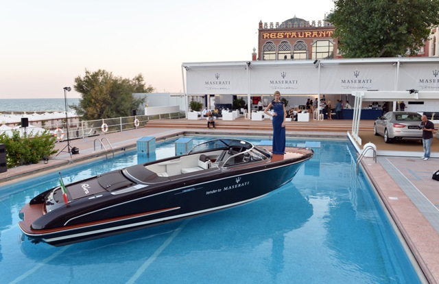 Festival di Venezia 2013 Blue Carpet Night firmata Maserati 14