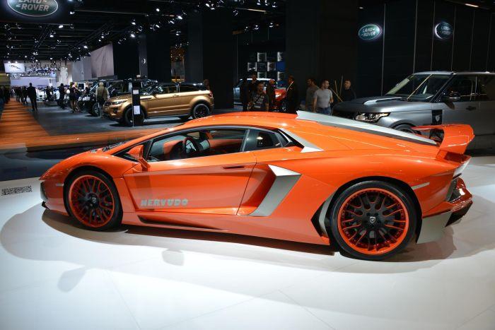 Lamborghini Aventador Nervudo by Hamann IAA 2013 04