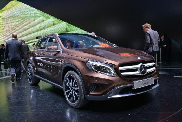 Mercedes-Benz GLA: la Stella dei SUV compatti a Francoforte 2013