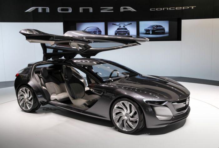 Opel Monza Concept gommata Dunlop all'IAA 2013 01