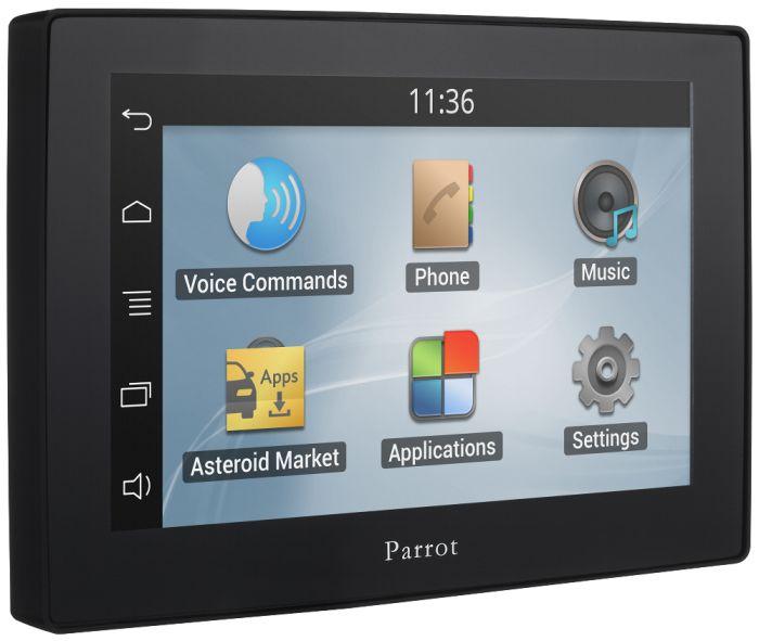 Parrot ASTEROID Tablet App, GPS, Musica e Telefonia Vivavoce