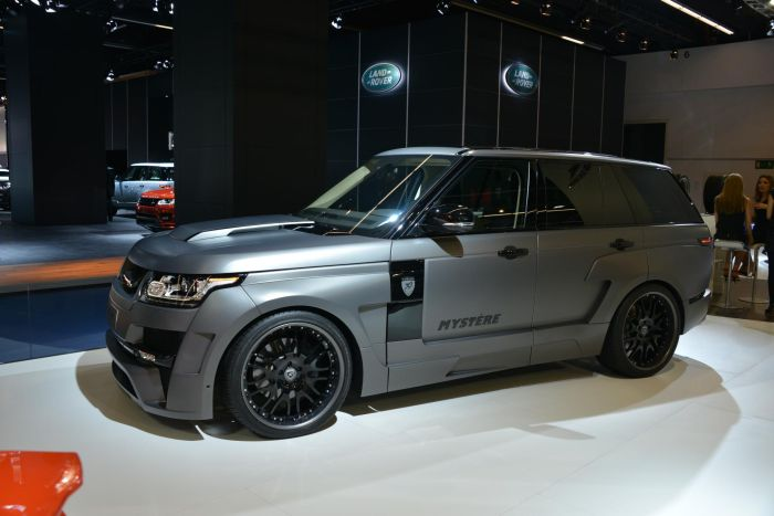 Range Rover Sport by Hamann IAA 2013 01
