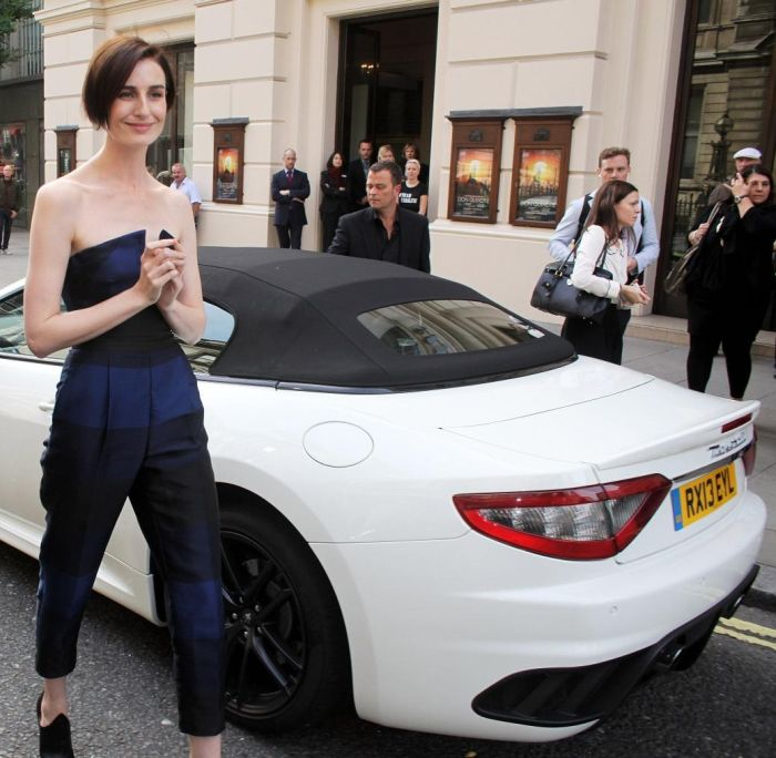 Supermodel Erin O'Connor arrives at the launch of 'The Face' 0