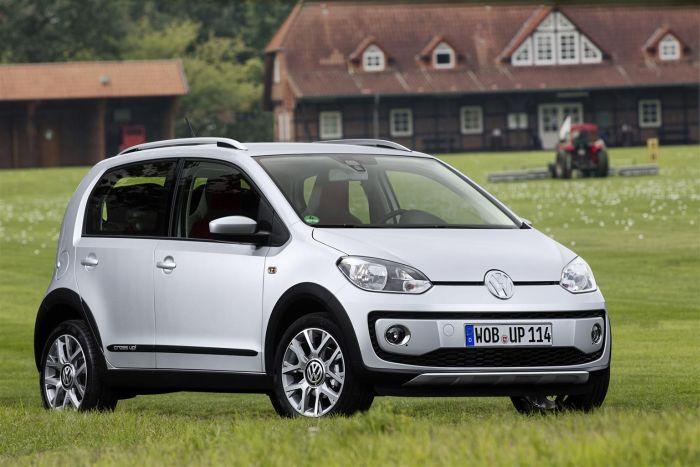 cross up! la city car Volkswagen dal look off-road 01