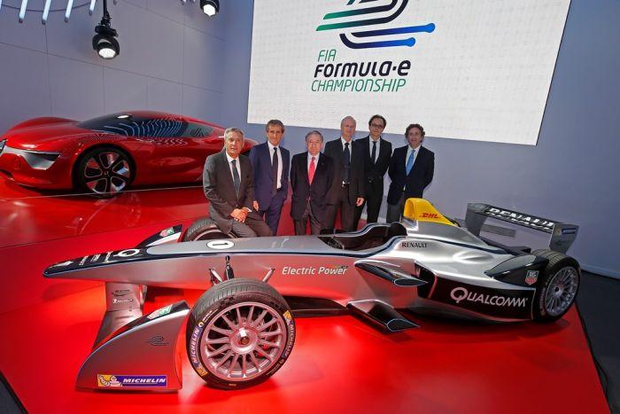 ALAIN PROST & JEAN-PAUL DRIOT TEAM UP FOR FIA FORMULA E CHAMPIONSHIP