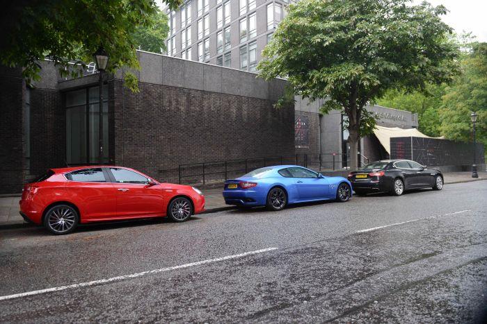 Alfa Giulietta, Maserati GranTurismo Sport and Quattroporte