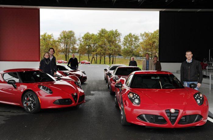 Alfa Romeo 4C 'Launch Edition': al Balocco consegnate le prime auto