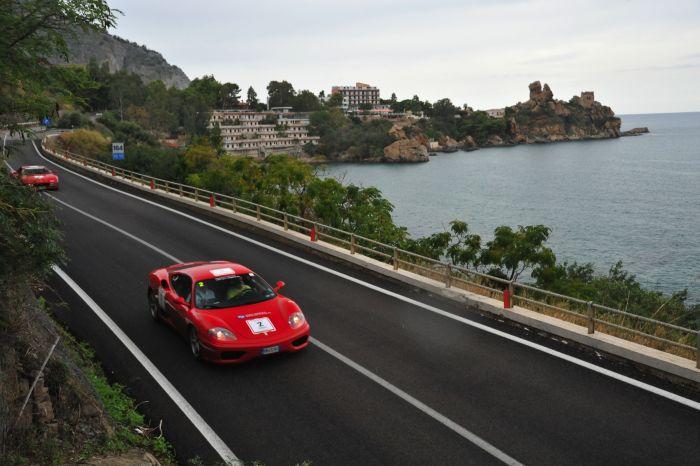 Al via il Targa Florio Ferrari Tribute 2013