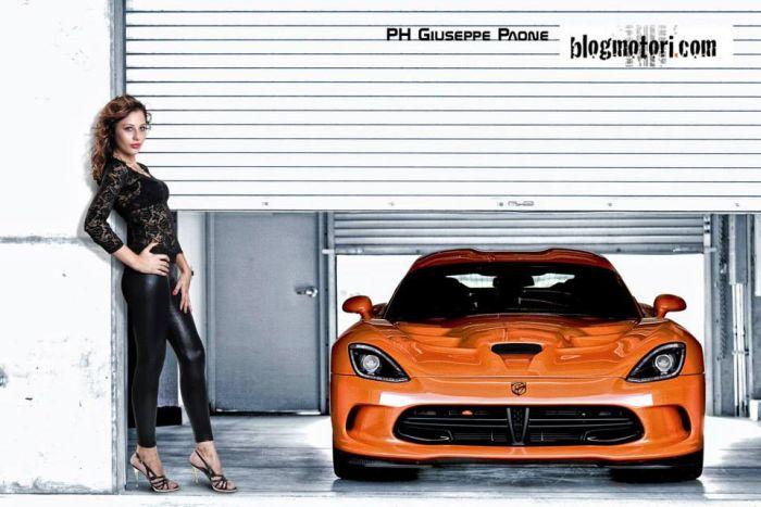 Scatti d'auto(re): Giuseppe Paone fotografa Ionela Iuliana