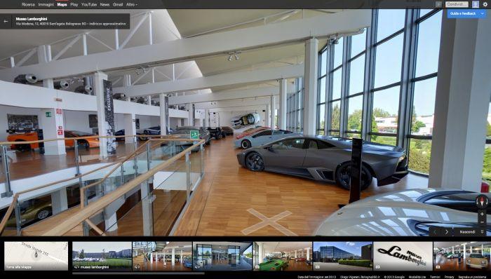 Il Museo di Automobili Lamborghini diventa visitabile online grazie a Google