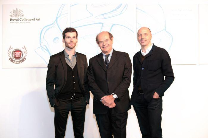 Lorenzo Ramaciotti (centre), Andrea Mocellin and Andreas Wuppinger