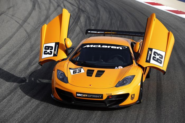 McLAREN GT REVEALS MORE DETAILS ABOUT THE TRACK-BRED 12C GT SPRINT 01
