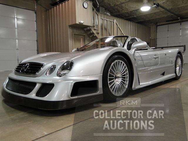 One-Off, 268mph Lotec Mercedes-Benz C1000; Ultra-Rare Mercedes-Benz CLK GTR Roadster; and more…