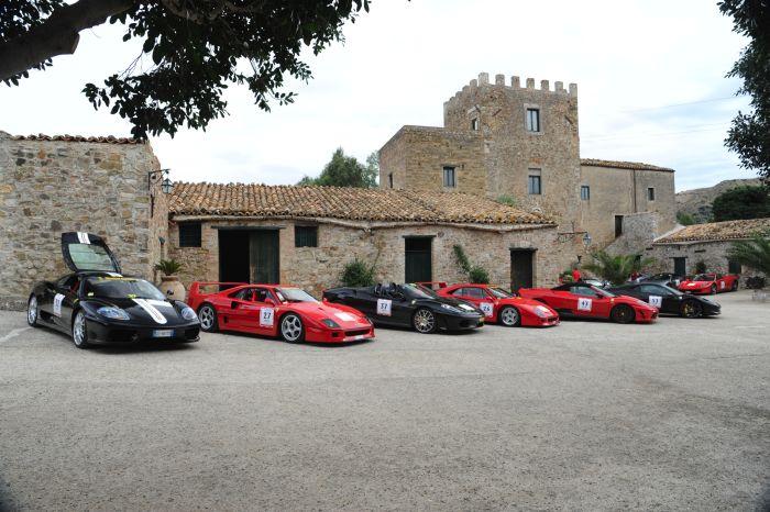 Targa Florio Classic e Ferrari Tribute to Targa Florio 2013  giornata finale di gara 01