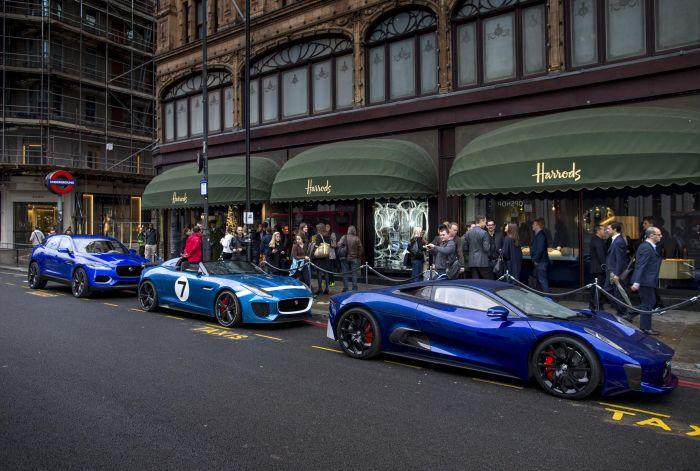 'WALLPAPER HANDMADE WITH JAGUAR' AND C-X17 CONCEPT CAR MAKE LONDON DEBUTS AT HARRODS