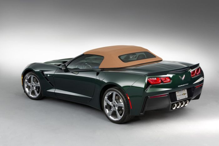 The Corvette Stingray Premiere Edition Convertible will cost $77,450