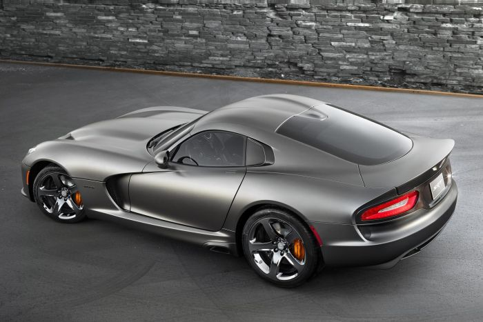 2014 SRT Viper GTS with Anodized Carbon Special Edition Package 1