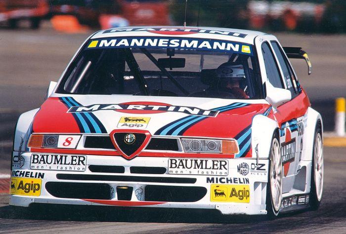 Alfa Romeo 155 dtm Martini Racing, inseguendo il mito - A Torino 45 Anni di storia
