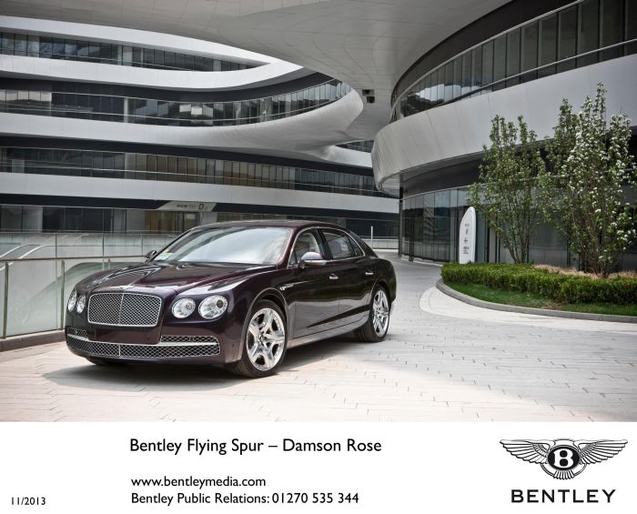 BENTLEY LAUNCHES NEW FLYING SPUR IN MILAN
