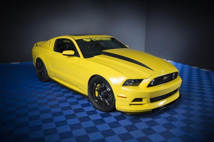 Ford Mustang Hottest Car al SEMA 2013