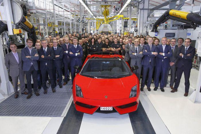 Gallardo addio alla più venduta super sportiva di Lamborghini 01