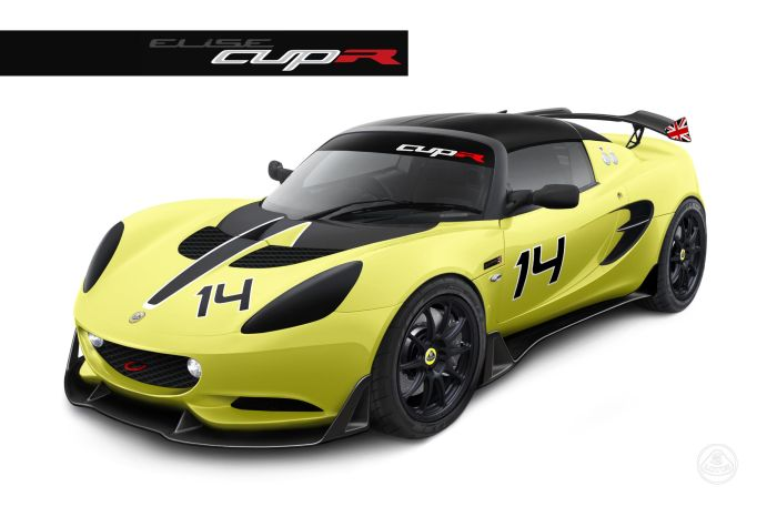 Lotus Elise S Cup R track-only