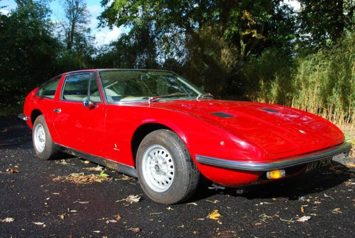 MASERATI INDY AMERICA: RARE CAR 'STRIKES' AT NEC AUCTION