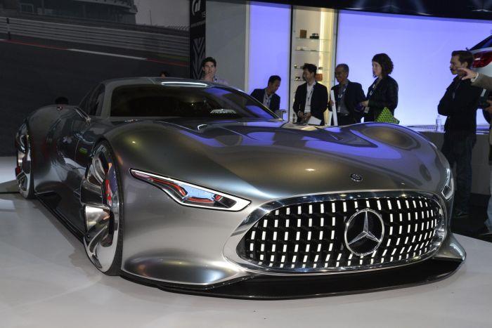 Mercedes-Benz AMG Vision Gran Turismo: le immagini mozzafiato da Los Angeles