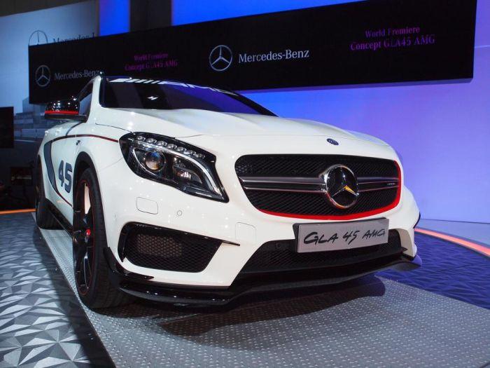 Concept GLA 45 AMG: a Los Angeles il SUV Mercedes ad alte prestazioni