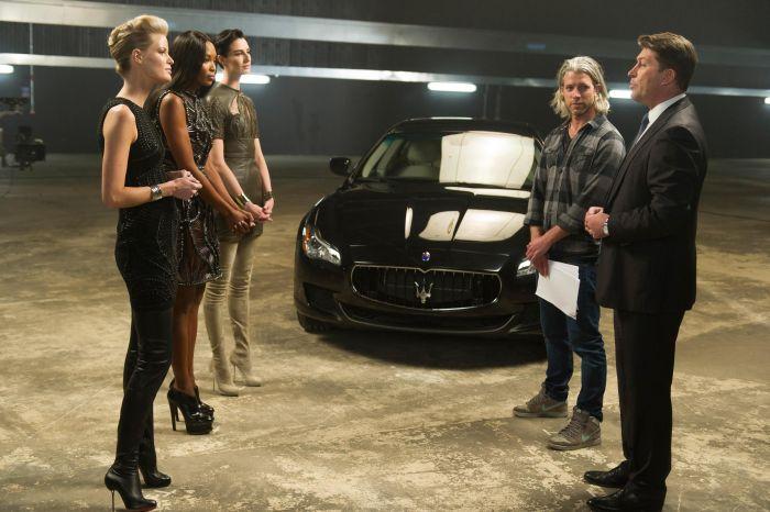 The Face Naomi Campbell, Caroline Winberg e Erin O'Connor, con special guest la nuova Maserati Quattroporte 01