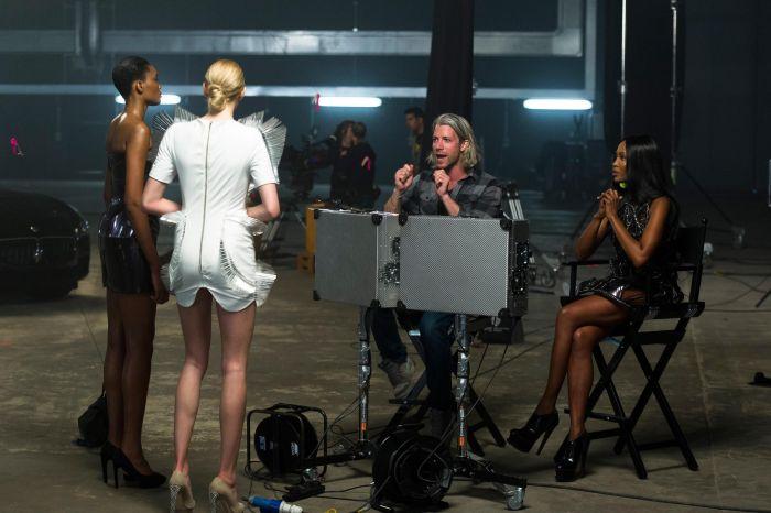 The Face Naomi Campbell, Caroline Winberg e Erin O'Connor, con special guest la nuova Maserati Quattroporte 04